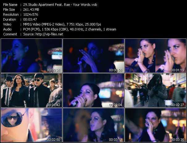 Studio Apartment Feat. Rae video screenshot