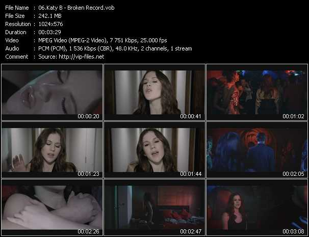 Katy B video screenshot