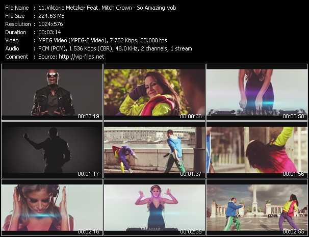 Viktoria Metzker Feat. Mitch Crown video screenshot
