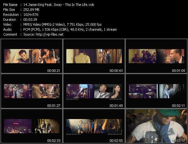 Jamie King Feat. Sway video screenshot
