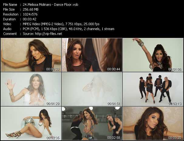 Melissa Molinaro video screenshot