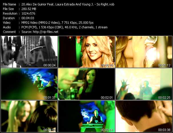 Alex De Guirior Feat. Laura Estrada And Young J. video screenshot