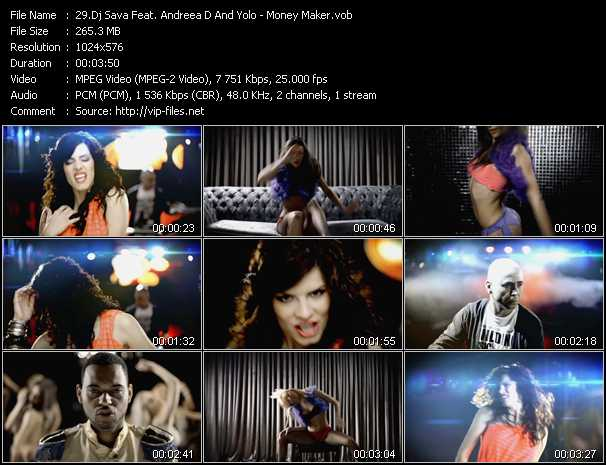 Dj Sava Feat. Andreea D And J. Yolo video screenshot