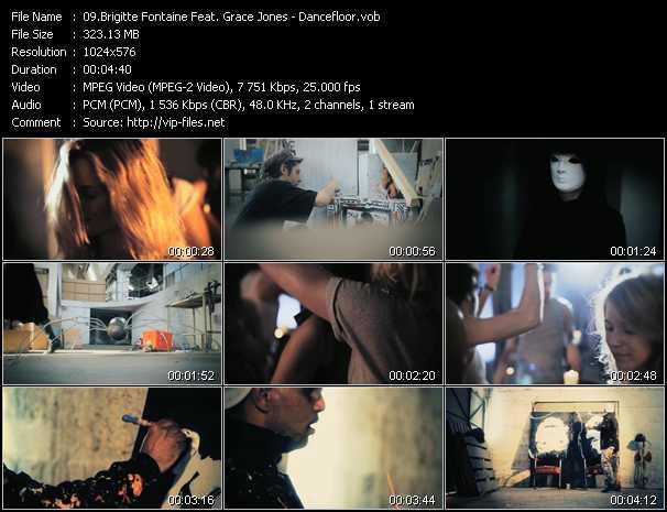 Brigitte Fontaine Feat. Grace Jones video screenshot