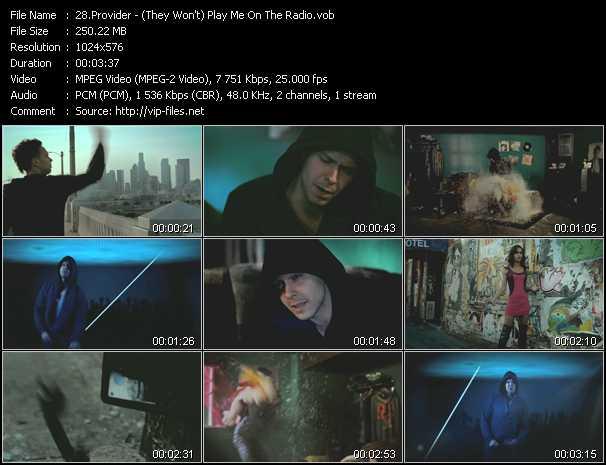 Provider video screenshot