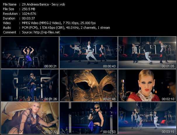 Andreea Banica video screenshot
