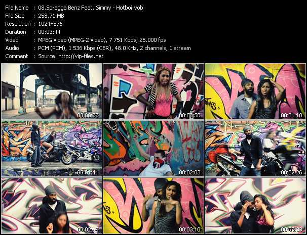 Spragga Benz Feat. Simmy video screenshot