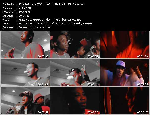 Gucci Mane Feat. Tracy T And Sliq B video screenshot