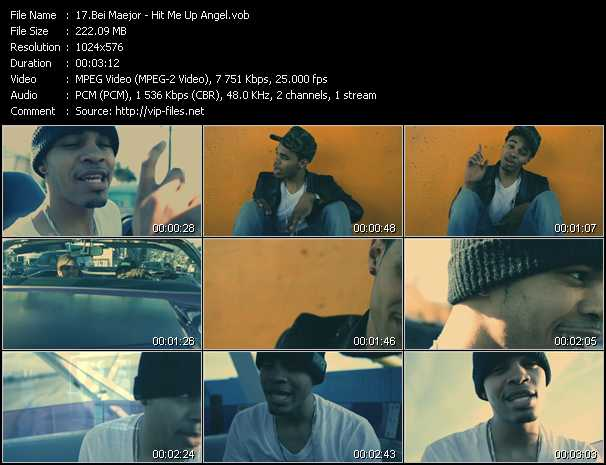 Bei Maejor video screenshot