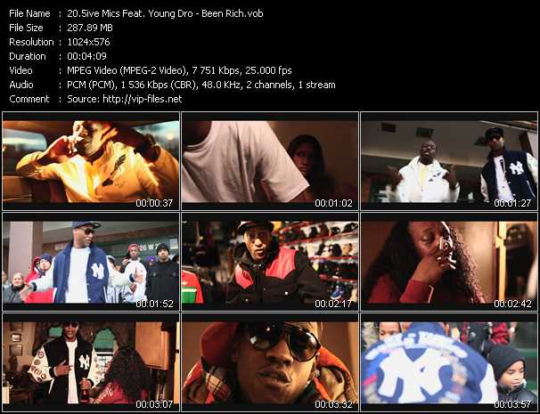 5ive Mics Feat. Young Dro video screenshot