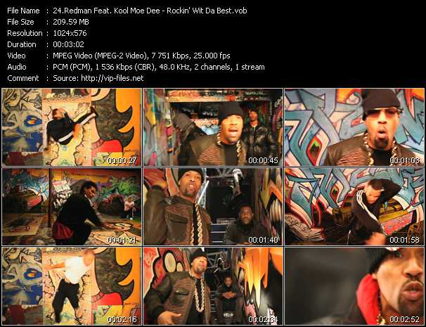 Redman Feat. Kool Moe Dee video screenshot