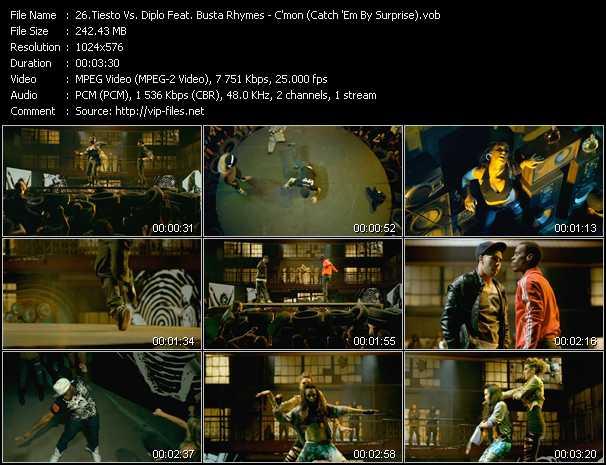Tiesto Vs. Diplo Feat. Busta Rhymes video screenshot