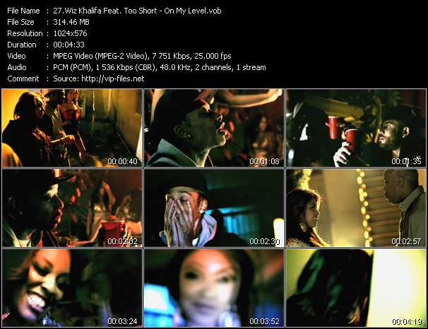 Wiz Khalifa Feat. Too Short video screenshot