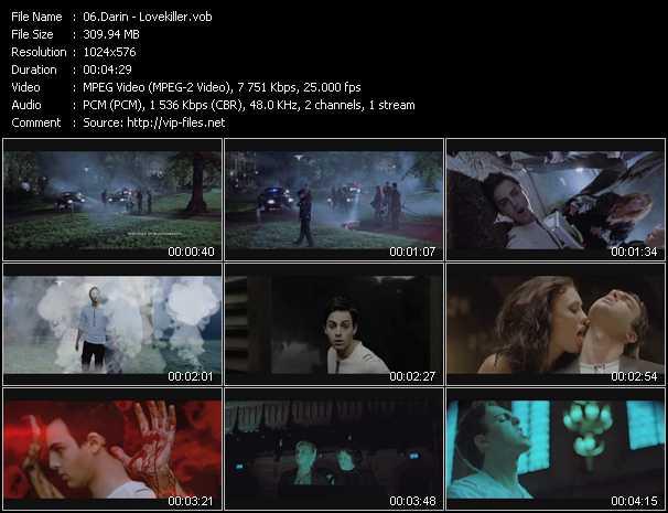 Darin video screenshot