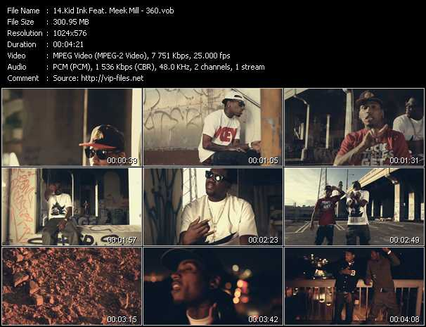 Kid Ink Feat. Meek Mill video screenshot