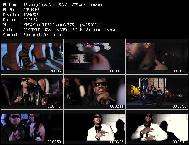 Young Jeezy And U.S.D.A. video screenshot