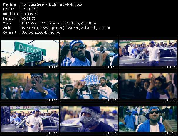 video Hustle Hard (G-Mix) screen