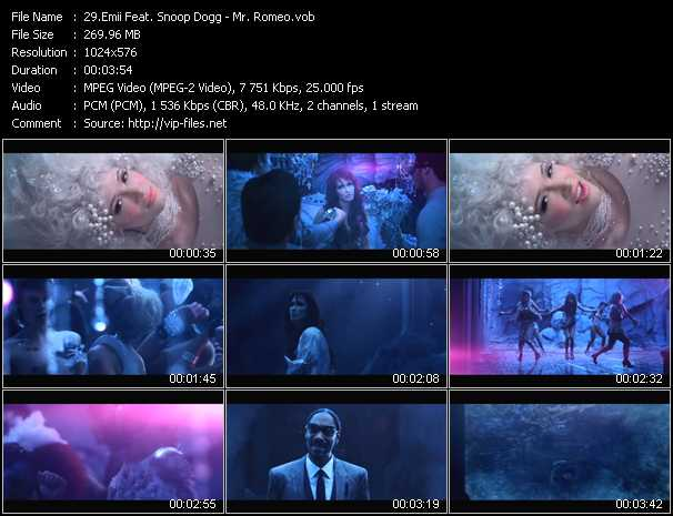 Emii Feat. Snoop Dogg video screenshot