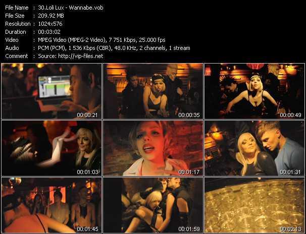 Loli Lux video screenshot