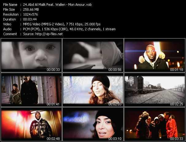 Abd Al Malik Feat. Wallen video screenshot