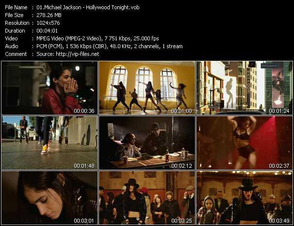 Michael Jackson video screenshot