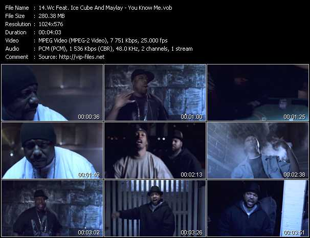WC Feat. Ice Cube And Maylay video screenshot