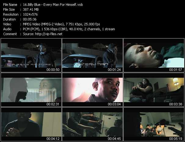 Billy Blue video screenshot
