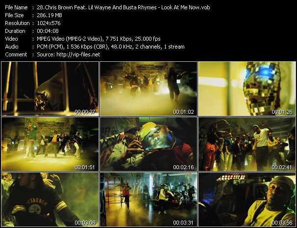 Chris Brown Feat. Lil' Wayne And Busta Rhymes video screenshot