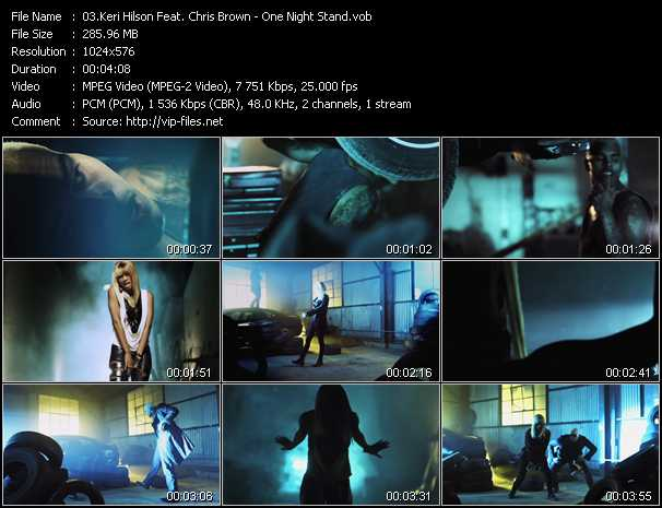 video One Night Stand screen