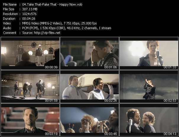 Take That Vs. Fake That video screenshot