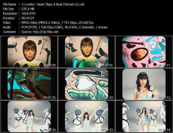 Lenka video screenshot