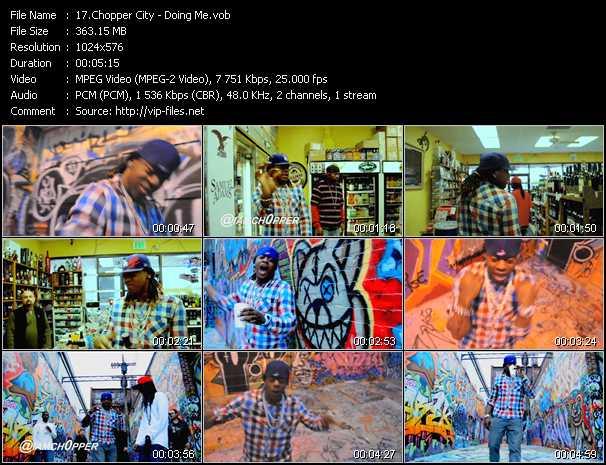 Chopper City video screenshot