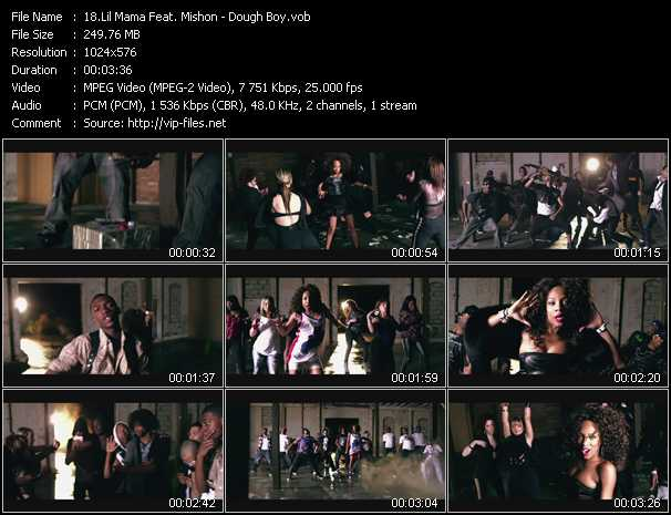 Lil' Mama Feat. Mishon video screenshot