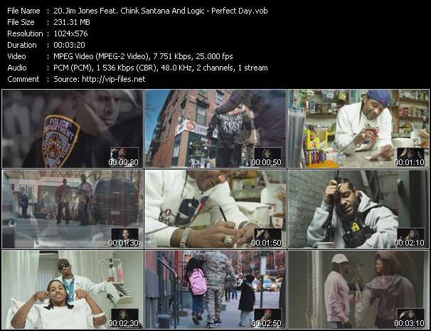 Jim Jones Feat. Chink Santana And Logic video screenshot