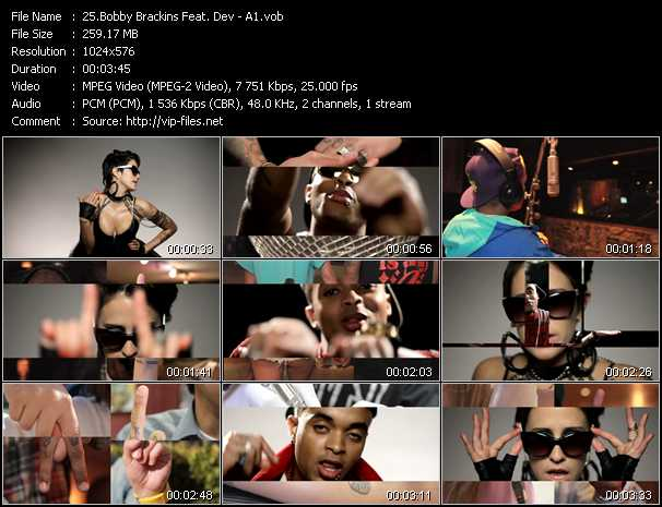 Bobby Brackins Feat. Dev video screenshot