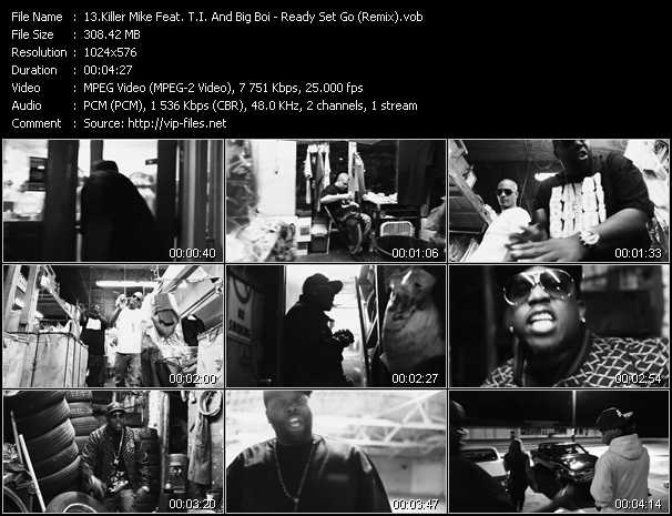 Killer Mike Feat. T.I. And Big Boi video screenshot