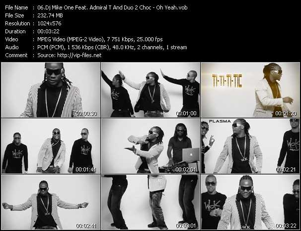 Dj Mike One Feat. Admiral T And Duo 2 Choc video screenshot