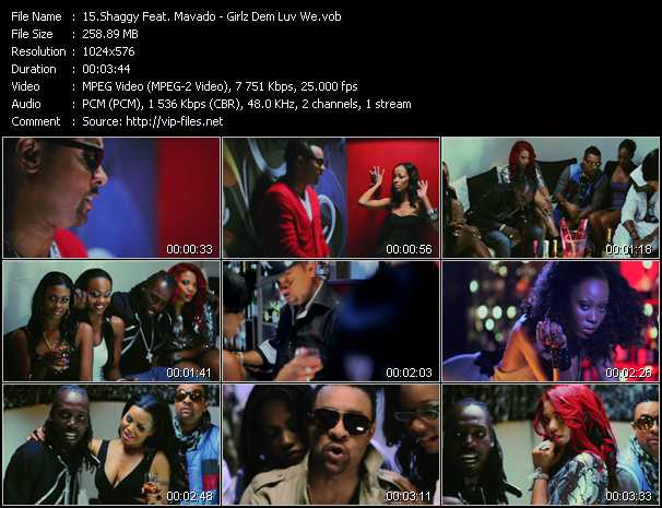 Shaggy Feat. Mavado video screenshot
