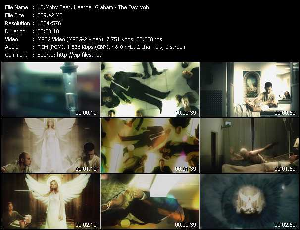 Moby Feat. Heather Graham video screenshot