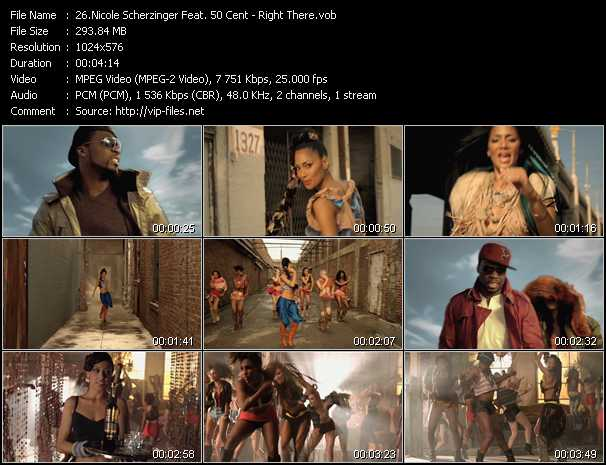 Nicole Scherzinger Feat. 50 Cent video screenshot