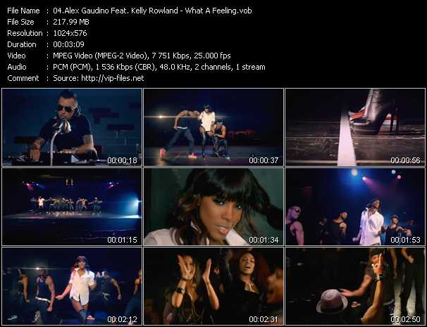 Alex Gaudino Feat. Kelly Rowland video screenshot