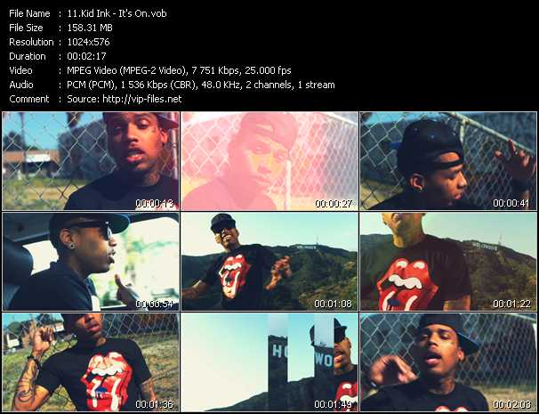 Kid Ink video screenshot