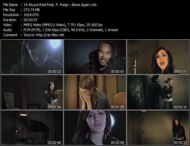 Alyssa Reid Feat. P. Reign video screenshot