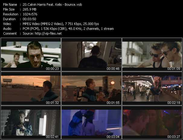 Calvin Harris Feat. Kelis video screenshot
