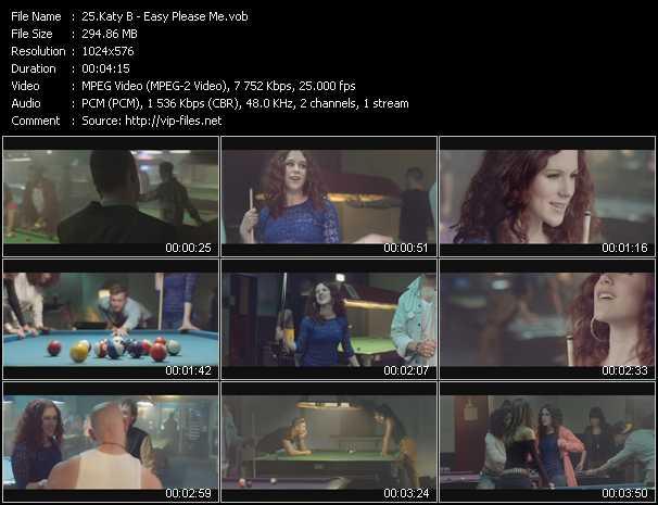 Katy B video screenshot