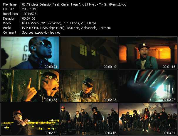 video My Girl (Remix) screen