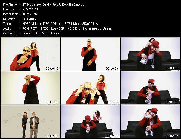 Nu Jerzey Devil video screenshot