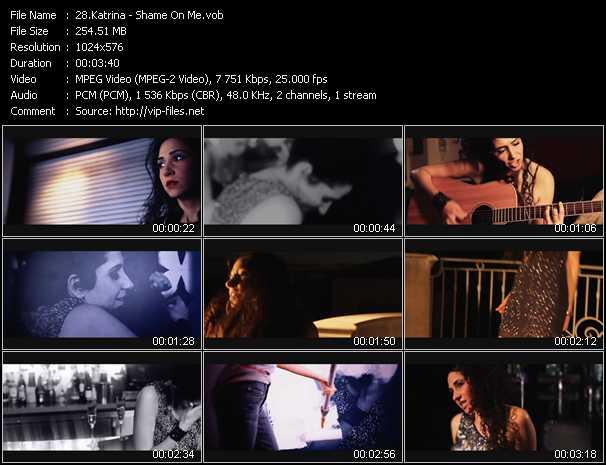 Katrina video screenshot