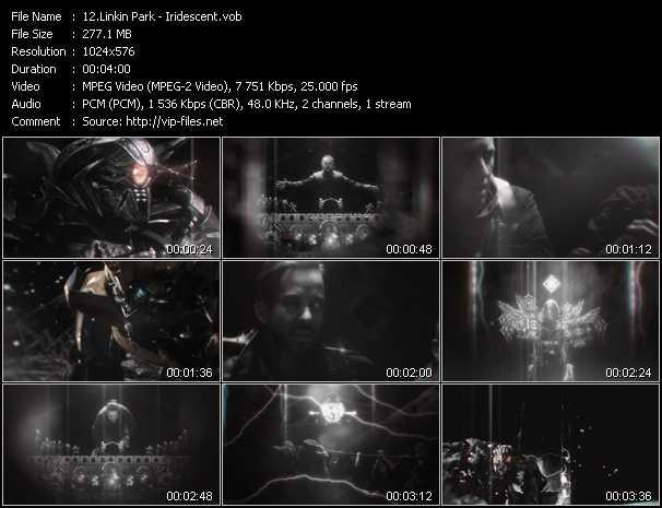 video Iridescent screen