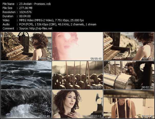 Andain video screenshot
